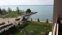 Rooms with balcony in Hotel Balaton with panoramic view of the Balaton
