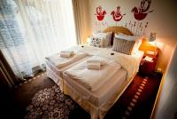 Hotelroom with Hungarian design in Bonvino Hotel on Balaton-Uplands at affordable prices incl. half board