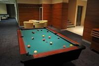 Billiard room of CE Plaza Hotel in Siófok for leisure relaxation