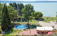 Panoramic view to Lake Balaton from Hotel Club Tihany