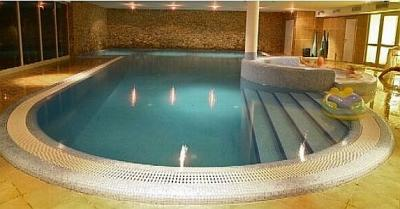 Indoor pool in Echo Residence All Suite Luxury Hotel in Tihany - Echo Residence Tihany - Luxury All Suite Hotel Tihany