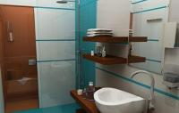 Bathroom of Echo Residence All Suite Luxury Hotel in Tihany