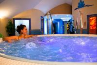 Jacuzzi of Hotel Kristaly at Lake Balaton in Keszthely with wellness packages