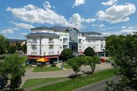 Kristaly Hotel Keszthely at Lake Balaton with discount packages with half board