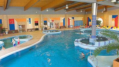 Wellness Hotel Azur Siofok Indoor Pool Lake Balaton