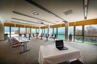 Yacht Wellness Hotel Siófok - conference room with panoramic view